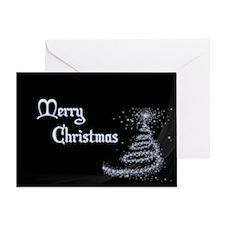 Minimalistic Christmas card Greeting Cards