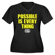 Play Strong Possible Is Everything Plus Size T-Shi