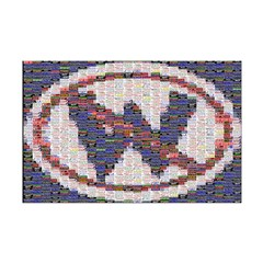 Not W Mosaic Posters (11 x 17)