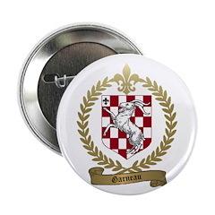 GARNEAU Family Crest Button