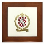 GARNEAU Family Crest Framed Tile