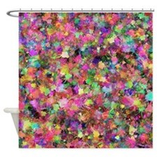 Patches of Paint Shower Curtain