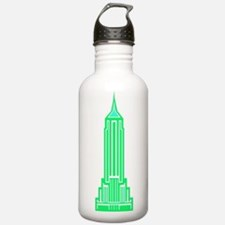 Empire State Building 2 Water Bottle