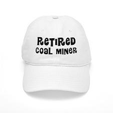 Retired Coal Miner Baseball Baseball Cap