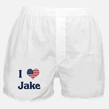 I Love Jake Boxer Shorts