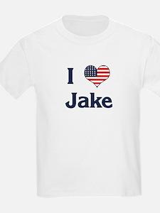 I Love Jake Kids T-Shirt