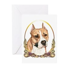 Staffordshire Terrier Christmas/Holiday Greeting C