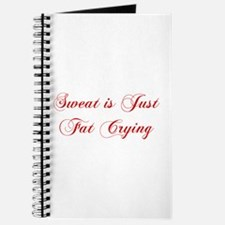 sweat-is-fat-crying-cho-red Journal