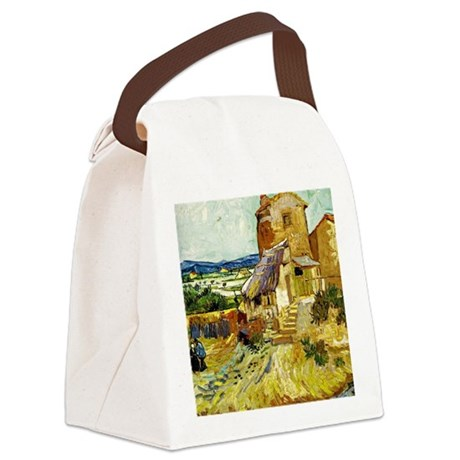 Van Gogh: The Old Mill Canvas Lunch Bag