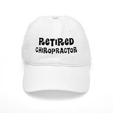 Retired Chiropractor Baseball Baseball Cap