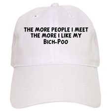 Bich-Poo: people I meet Baseball Cap