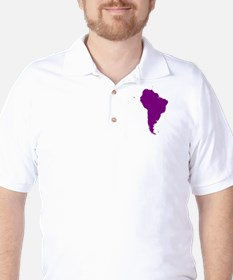 Continent of South America T-Shirt