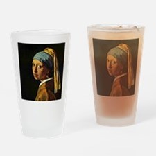 The Girl with a Pearl Earring, pain Drinking Glass