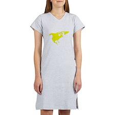 Continent of North America Women's Nightshirt