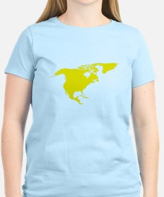 Continent of North America T-Shirt