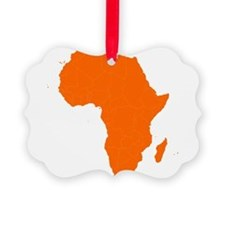 Continent of Africa Ornament