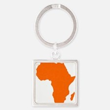 Continent of Africa Keychains