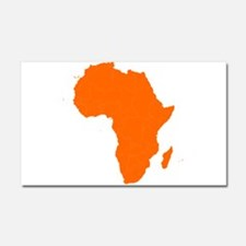 Continent of Africa Car Magnet 20 x 12