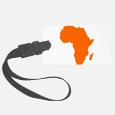 Continent of Africa Luggage Tag