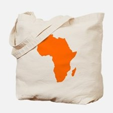 Continent of Africa Tote Bag