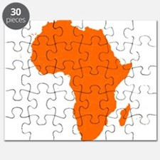 Continent of Africa Puzzle