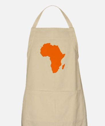 Continent of Africa Apron