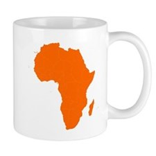 Continent of Africa Mugs