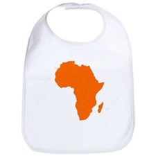 Continent of Africa Bib