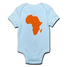 Continent of Africa Body Suit