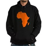 Africa Dark Hoodies