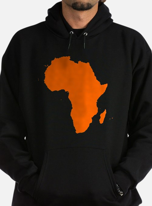 Continent of Africa Hoodie