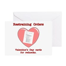 Valentine's Restraint Greeting Cards (Pk of 10