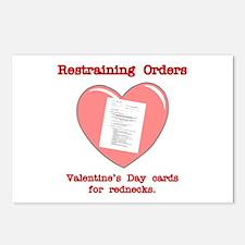 Valentine's Restraint Postcards (Package of 8)