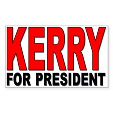 Kerry For President Decal