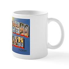 Hollywood Beach Florida Greetings Mug