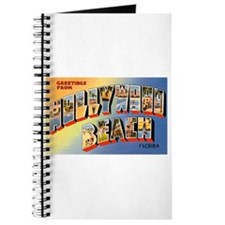 Hollywood Beach Florida Greetings Journal