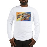 Hollywood beach florida solid Long Sleeve T-shirts