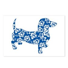 Hawaiian Dachshund Doxie Postcards (Package of 8)