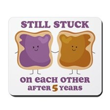 PBJ 5th Anniversary Mousepad