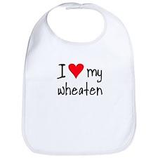 I LOVE MY Wheaten Bib