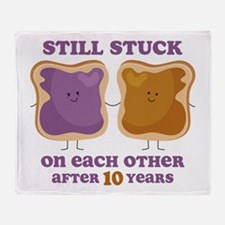 PBJ 10th Anniversary Throw Blanket