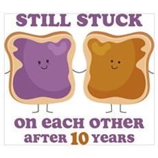 PBJ 10th Anniversary Wall Art Poster