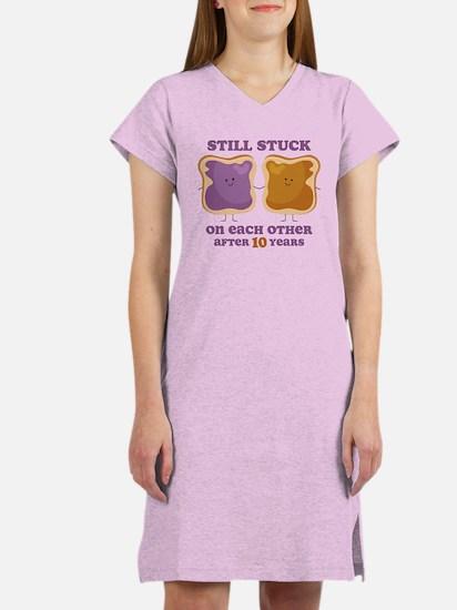 PBJ 10th Anniversary Women's Nightshirt