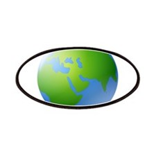 Globe of Earth Patches
