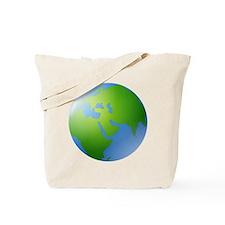 Globe of Earth Tote Bag