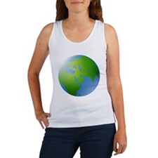 Globe of Earth Tank Top