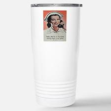 Nurse is my Name Stainless Steel Travel Mug