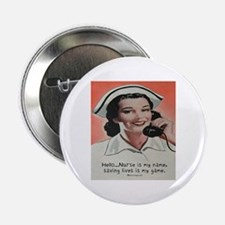 "Nurse is my Name 2.25"" Button"
