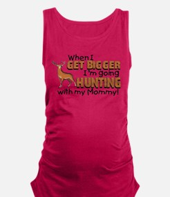hunting mommy.png Maternity Tank Top