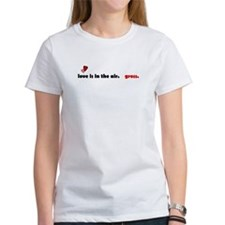 Love is in the air - gross. Tee